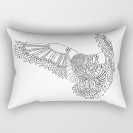 Mechanical Owl Rectangular Pillow