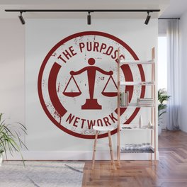 The Purpose Network Wall Mural