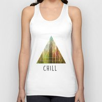 chill Tank Tops featuring Chill  by Corentin Mas
