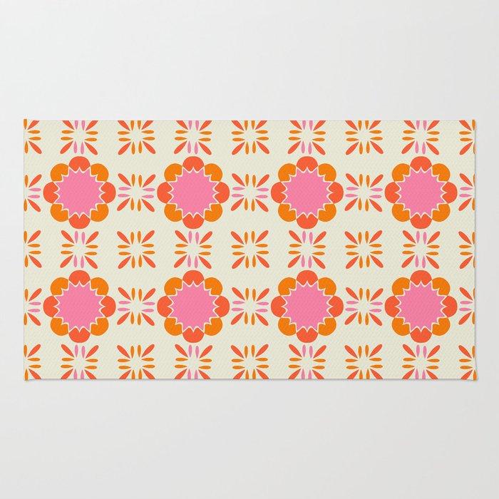 Sixties Tile Rug