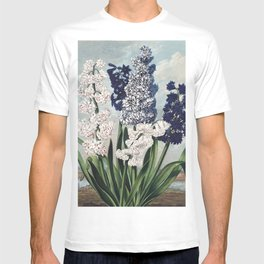 Hyacinths from The Temple of Flora enhanced T-shirt