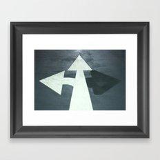 :: arrows :: Framed Art Print