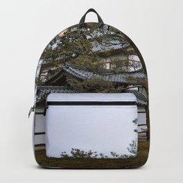 Golden Pavilion in Kyoto, Japan Backpack