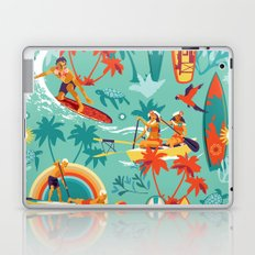 Hawaiian resort Laptop & iPad Skin