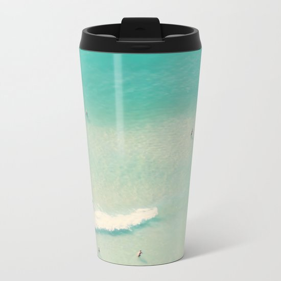 sea bliss II Metal Travel Mug