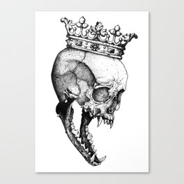 Ancients Kings : The Wolf Canvas Print