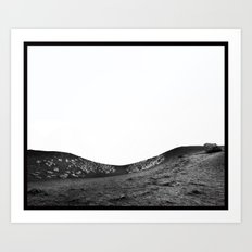 Sleeping Volcano... Art Print