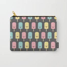 Happy Kawaii Ice Lollies Carry-All Pouch