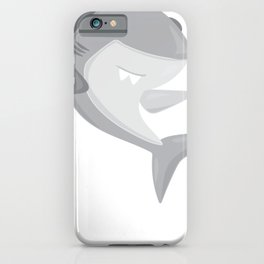 Friendly Sharks Great White Shark iPhone Case