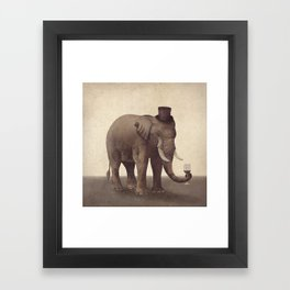 A Fine Vintage  Framed Art Print