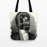 bdsm Tote Bags featuring BDSM XIV by DIVIDUS