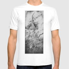 Vampyre White Mens Fitted Tee MEDIUM
