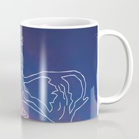 crown Mugs featuring Crown by estetographic