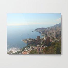 Monte Carlo Monaco Metal Print