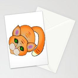 Sad cat Stationery Cards