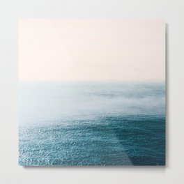 Ocean Fog Metal Print
