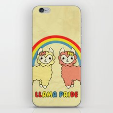 Cute Kawaii Llama Pride Rainbow iPhone & iPod Skin