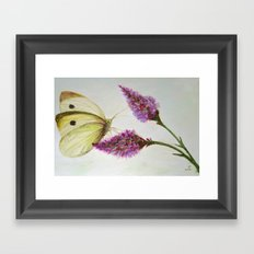 Simple and beautiful Framed Art Print
