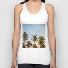 Chilling Palm Trees Unisex Tank Top