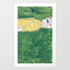 look at me Art Print