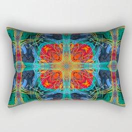 Mandala #5 Rectangular Pillow