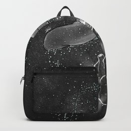 The peaceful part in heaven. Backpack