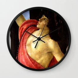 "Sandro Botticelli ""Spring"" Mercury Wall Clock"