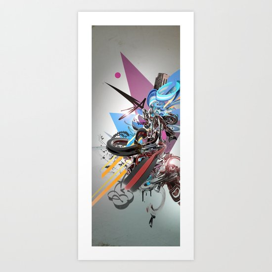 1-2-4 Art Print