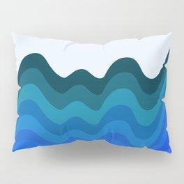 Retro Ripple Sea Wave Pillow Sham