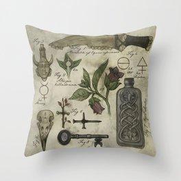 (Super)natural History - 01 Throw Pillow