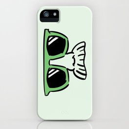 Too Cool (yellow green) iPhone Case