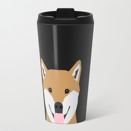 Indiana - Shiba Inu gift design for dog lovers and dog people Travel Mug