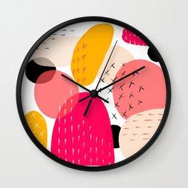Rocks - by Kara Peters Wall Clock