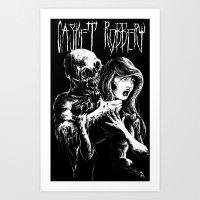 """Casket Robbery """"Annibelle's Hell"""" T-shirt Art Print"""