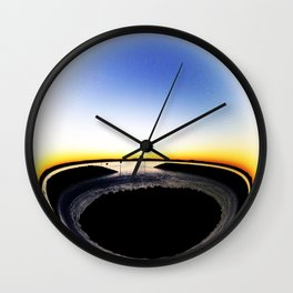 Curvature Wall Clock