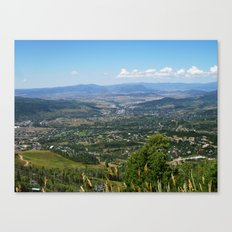 Steamboat Springs Canvas Print