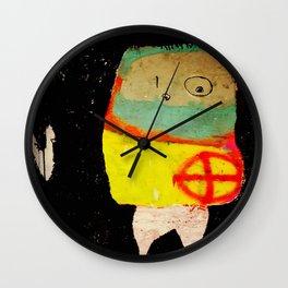 Intruder for virtue. Wall Clock