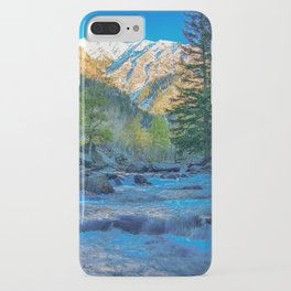 River Bed Sunrise // Long Exposure Landscape Photograph in the Colorado Rocky Mountains iPhone Case