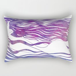 Water Nymph VI Rectangular Pillow