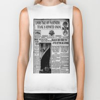 duvet cover Biker Tanks featuring THE HISTORY OF SHIP DUVET COVER by aztosaha