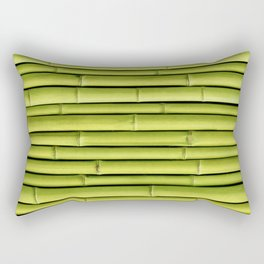 Green Bamboo Rectangular Pillow