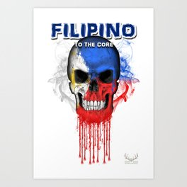 To The Core Collection: Philippines Art Print