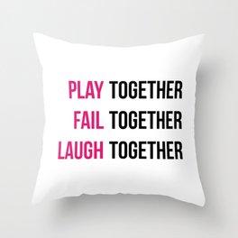 Kerri Mantra Throw Pillow