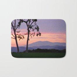 Saddleback Sunset Bath Mat