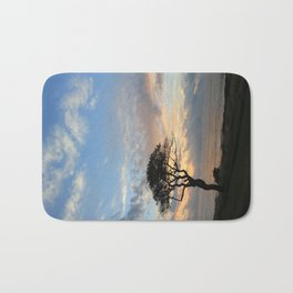 Lone Tree in Hawaii Bath Mat