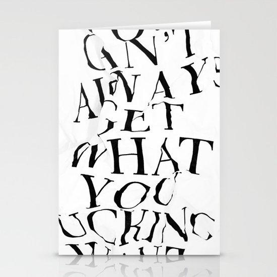 YCAGWYFW Stationery Cards