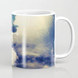 Woman and sky Coffee Mug
