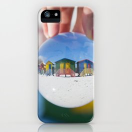 Changing Rooms at the Beach iPhone Case