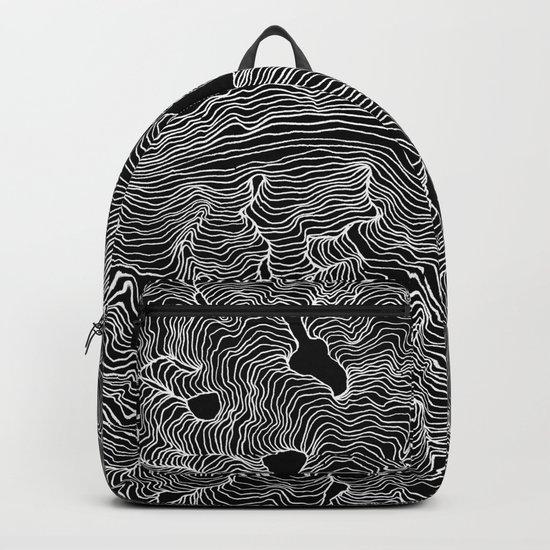 Inverted Enveloping Lines Backpack