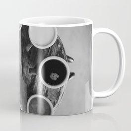 Coffee Circle (Black and White) Coffee Mug